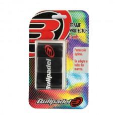 BULLPADEL FRAME PROTECTOR BLACK 3 PCS