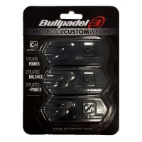 BULLPADEL PROTECTOR CUSTOM WEIGHT BLACK