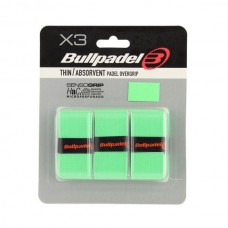 BULLPADEL THIN/ABSORBENT OVERGRIP 3-PACK GREEN