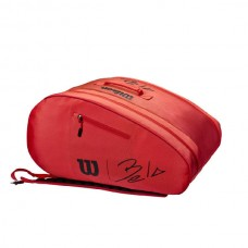 WILSON BELA SUPER TOUR PADEL BAG RED
