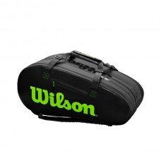 WILSON SUPER TOUR 3 COMP CHARCOAL/GREEN